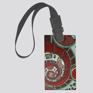 spiral stairs Large Luggage Tag