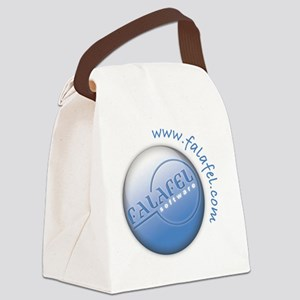 Falafel_Logo_Large Canvas Lunch Bag