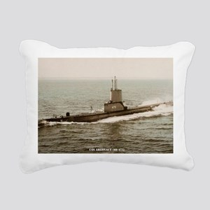 argonaut large framed pr Rectangular Canvas Pillow