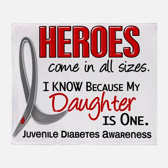 D Heroes All Sizes Daughter Juvenile Throw Blanket