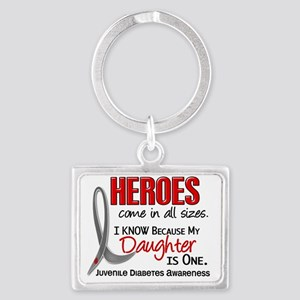D Heroes All Sizes Daughter Juv Landscape Keychain