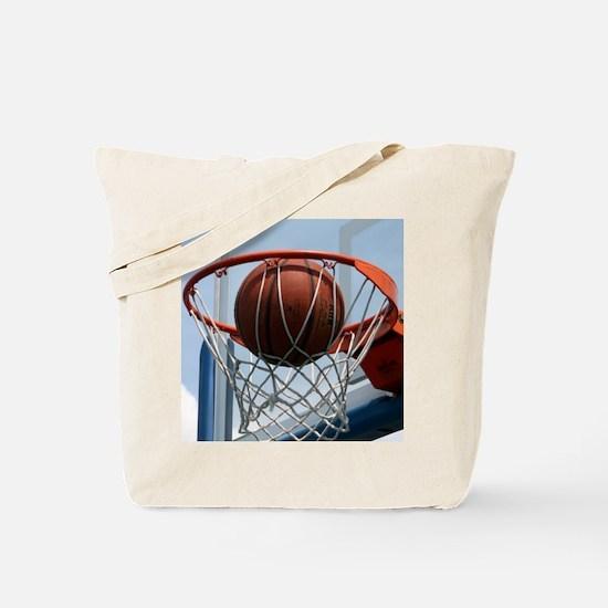 baskertball Tote Bag