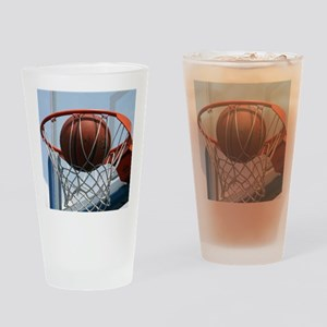 baskertball Drinking Glass