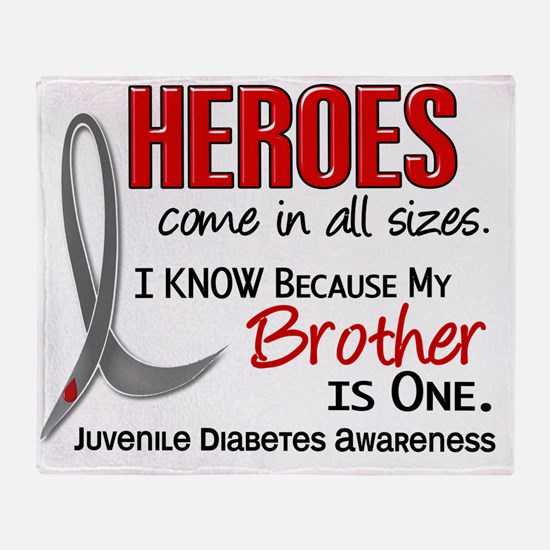 D Heroes All Sizes Brother Juvenile  Throw Blanket