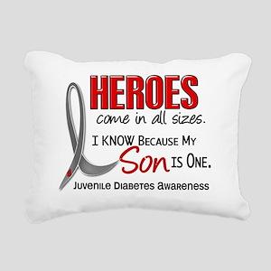 D Heroes All Sizes Son J Rectangular Canvas Pillow
