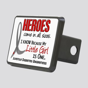 D Heroes All Sizes Little  Rectangular Hitch Cover