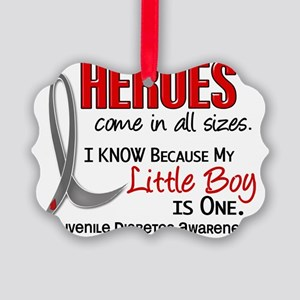 D Heroes All Sizes Little Boy Juv Picture Ornament
