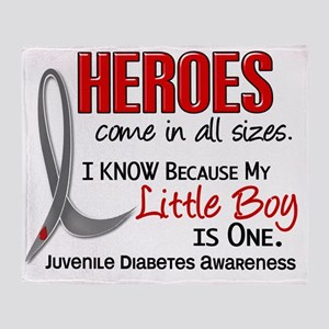 D Heroes All Sizes Little Boy Juveni Throw Blanket