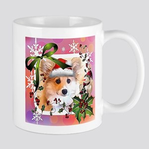Pembroke Corgi Holiday Mugs