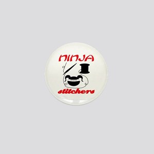 ninja stitchers Mini Button