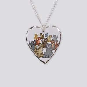 youGetACat_back_wWhiteTxt Necklace Heart Charm