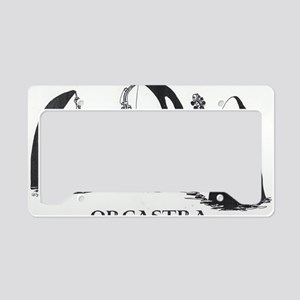 ORCASTRA Trio License Plate Holder