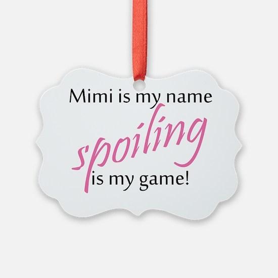 Mimi Pink Ornament