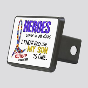 D Heroes All Sizes Autism  Rectangular Hitch Cover