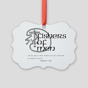 fisher_men Picture Ornament