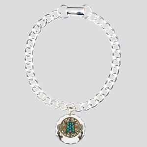 Turquoise Tortoise Dream Charm Bracelet, One Charm