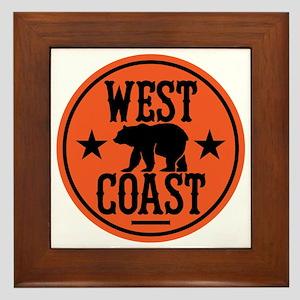 westcoast01 Framed Tile