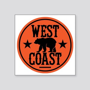 "westcoast01 Square Sticker 3"" x 3"""