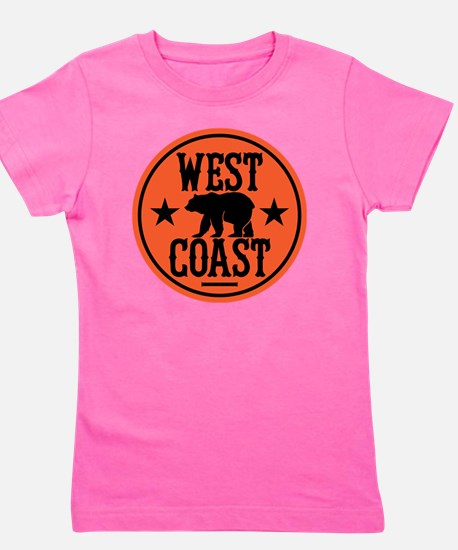westcoast01 Girl's Tee