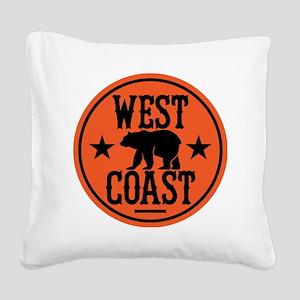 westcoast01 Square Canvas Pillow