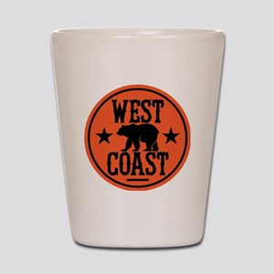 westcoast01 Shot Glass