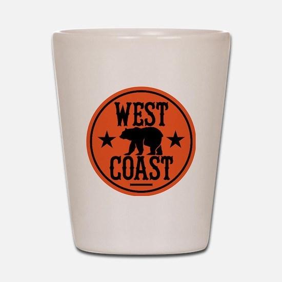 westcoast01 Shot Glass