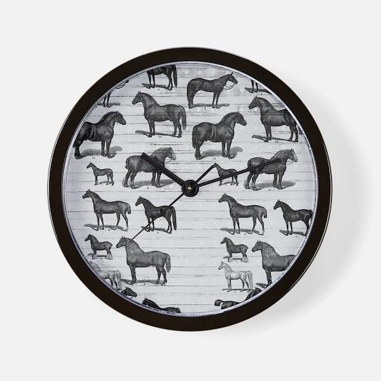 flipflops-vinthorses Wall Clock