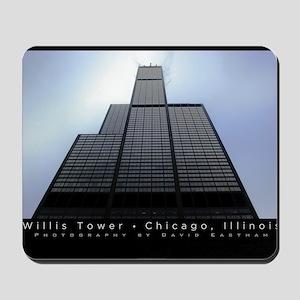 16x20_poster_Willis Tower-black Mousepad