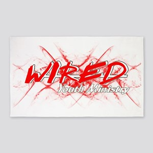 Wired Youth new 2010 3'x5' Area Rug