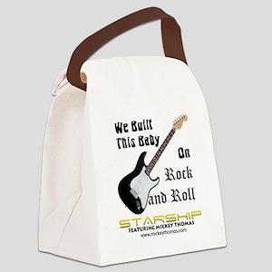 RockAndRollBaby Canvas Lunch Bag