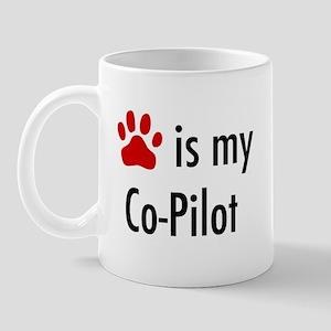 Dog is my Co-Pilot Mug