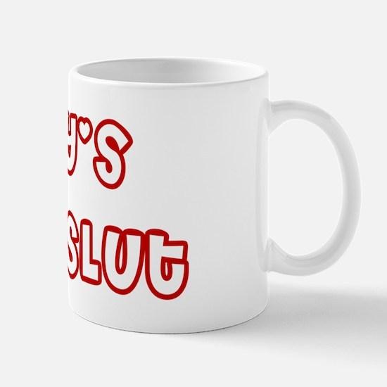 Daddys Little Slut wboyshortred Mug