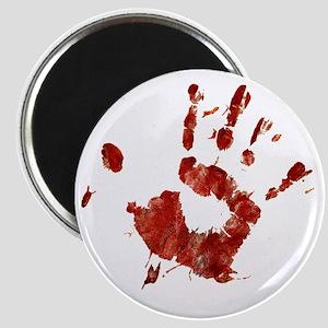 Bloody Handprint Right Magnet