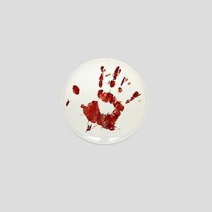 Bloody Handprint Right Mini Button