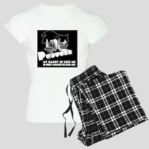 2-1-black Women's Light Pajamas