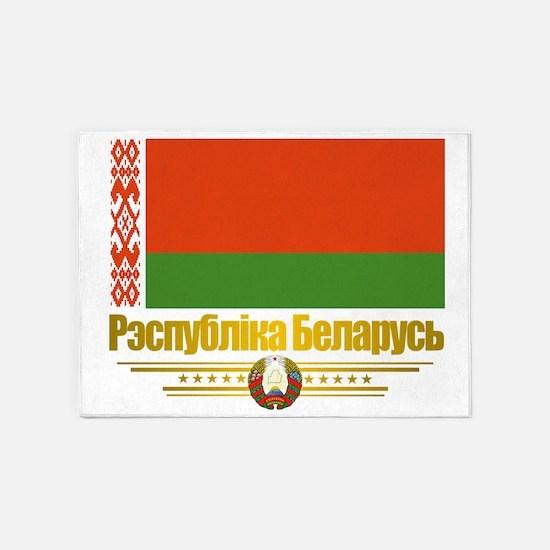 Belarus (Flag 10)2 5'x7'Area Rug