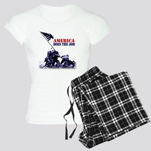 2-7 white Women's Light Pajamas