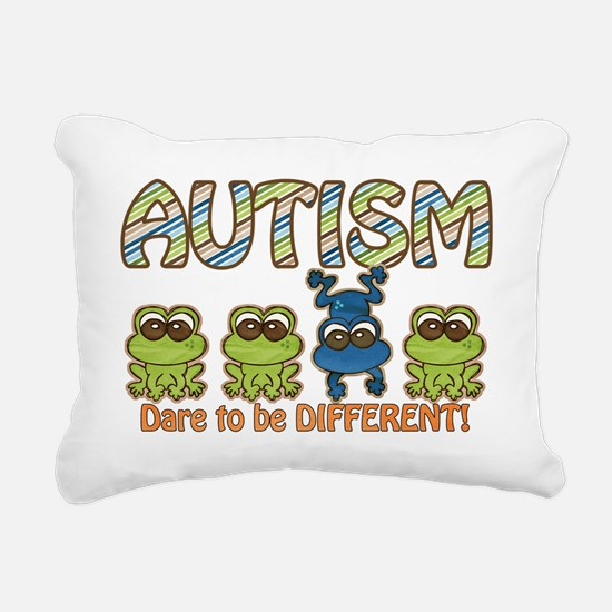 Dare to be Different Rectangular Canvas Pillow