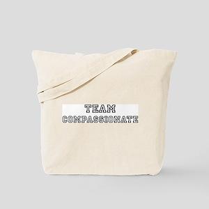 Team COMPASSIONATE Tote Bag