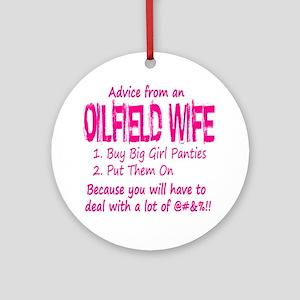 advice Round Ornament