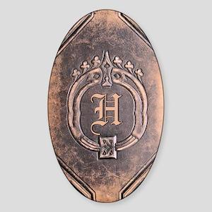 Book_H Sticker (Oval)