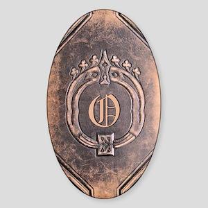 Book_O Sticker (Oval)