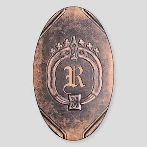 Book_R Sticker (Oval)