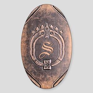 Book_S Sticker (Oval)