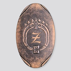 Book_Z Sticker (Oval)
