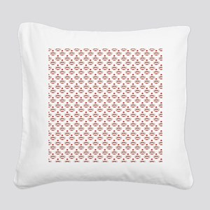 robinsampson_cu_papers_sock_m Square Canvas Pillow
