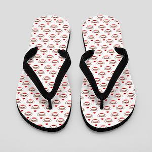 robinsampson_cu_papers_sock_monkey01 Flip Flops