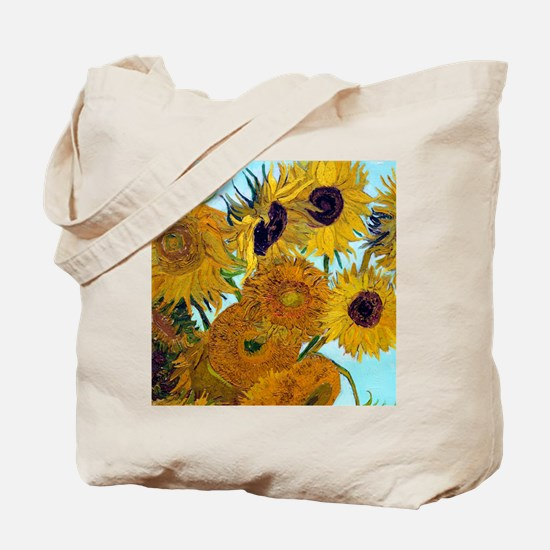 Btn VG Sunflowers Tote Bag