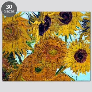 Btn VG Sunflowers Puzzle