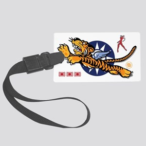 Flying Tigers - Decorated Nose A Large Luggage Tag
